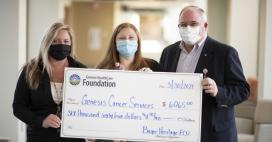 Bayer Heritage Federal Credit Union Donates to Genesis Cancer Services